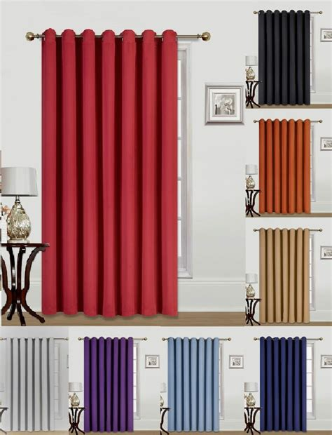 new 1 wide window grommet panel curtain heavy thick