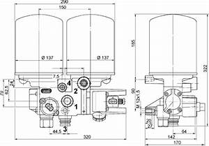 Meritor Wabco 432 431 191 0 System Saver 1200 Twin