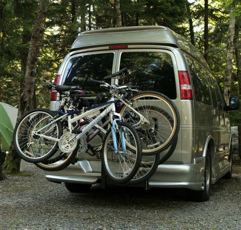 bike rack for minivan conversion and thule swing away bike rack products i