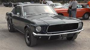 1968 Bullitt Mustang Sound - YouTube