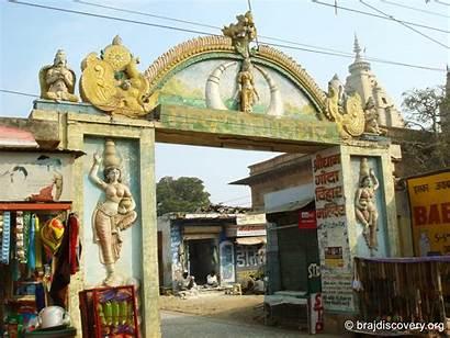 Vrindavan Bihari Godha Temple Title Pixels