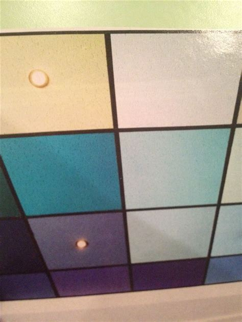 Painted Drop Ceiling How It Would Look With Different