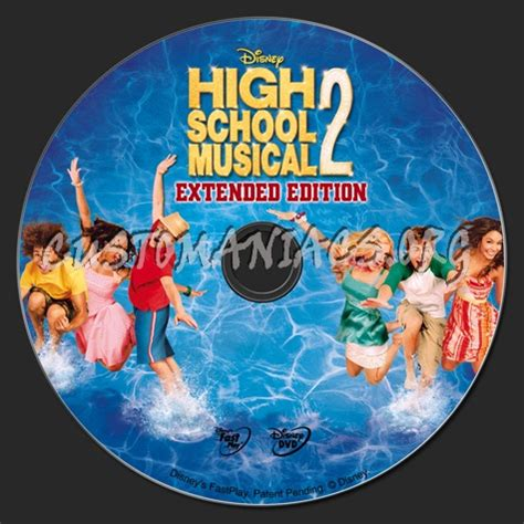 High School Musical 2 Dvd Label  Dvd Covers & Labels By