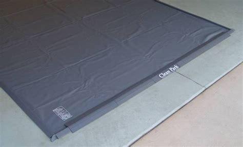 park smart parking mat clean park heavy duty gray garage mats xxxcleanpk