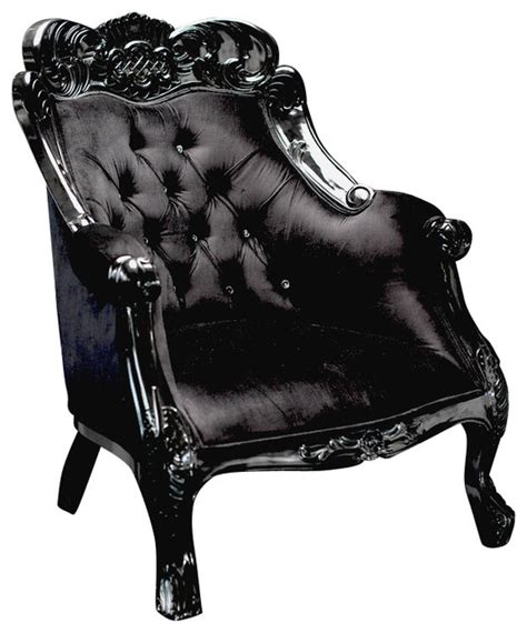 artistic pendant lights velvet baroque accent chair black armchairs and