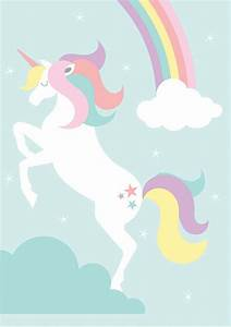 Free Sports Card Template Free Printable Unicorn Rainbow Creative Center