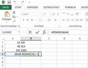 Römische Zahlen 2016 : excel r mische zahlen schreiben ~ Orissabook.com Haus und Dekorationen