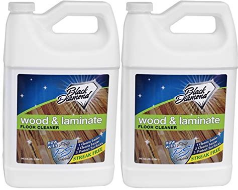 Black Diamond Wood & Laminate Floor Cleaner 2 Gallons: For