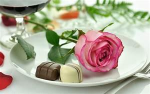 Pequeno almoço romântico HD FotosWiki