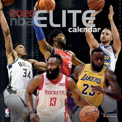 nba elite mini wall calendar