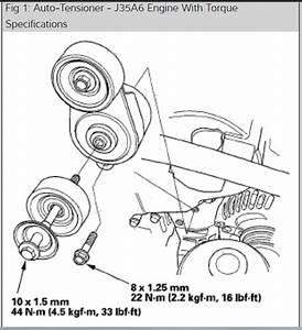 33 2007 Honda Odyssey Serpentine Belt Diagram