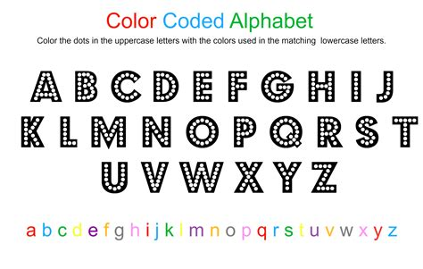 the alphabet in letters alphabet coloring sheet free printable no time for
