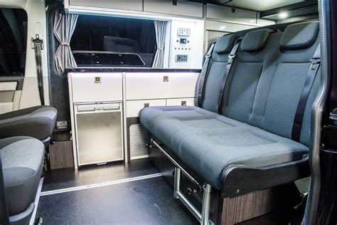 sliding seat system vw  camper conversion company