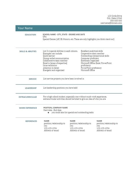 docs resume template doc templates resume resume ideas