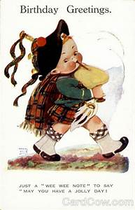 birthday greetings bagpipes mabel attwell