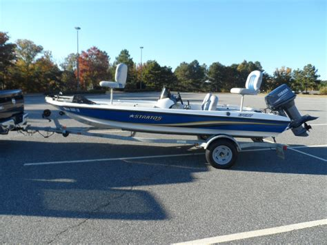 Stratos Bass Boats by 2007 Stratos 176xt Bass Boat 7 700 00 Picclick