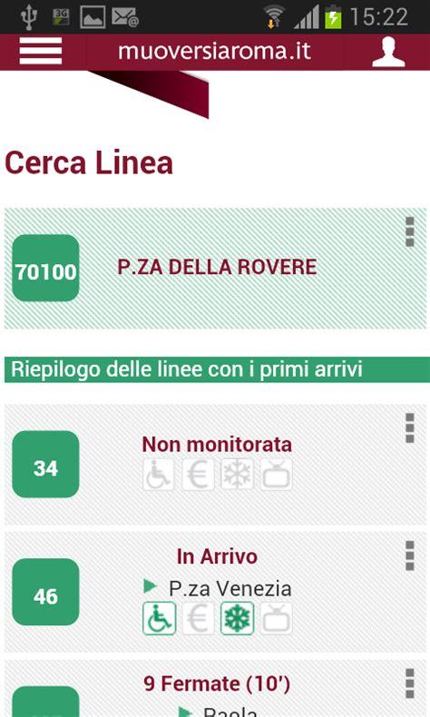percorso atac mobile muoversi a roma app gratis per trovare autobus atac