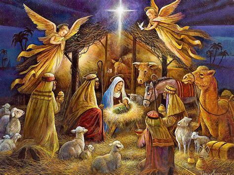 the war on christmas christmas nativity birth and angel