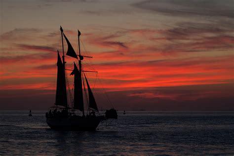 Key West Sailboat by Key West Sailboat Sunset Places Edwin Sutphen Photography