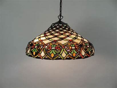Tiffany Lighting Lights Stained Glass Hanging Fixture
