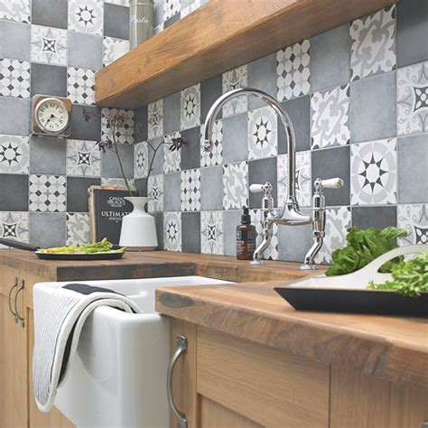 kitchen tile ideas   blow  mind ideal home