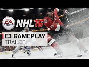 EA NHL 16 Official E3 release gameplay trailer : EA_NHL