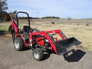 2012 Mahindra Max 25 Mfwd Utility Tractor W   Attachments