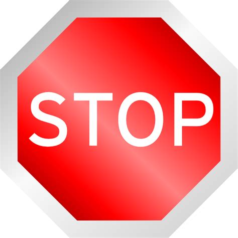 öl verlust stop stop sign clip at clker vector clip