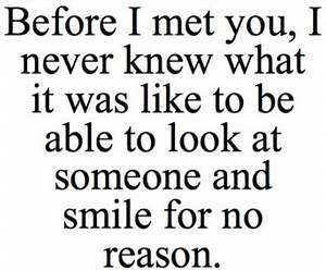 CUTE QUOTES FOR YOUR BOYFRIEND TO MAKE HIM SMILE image ...