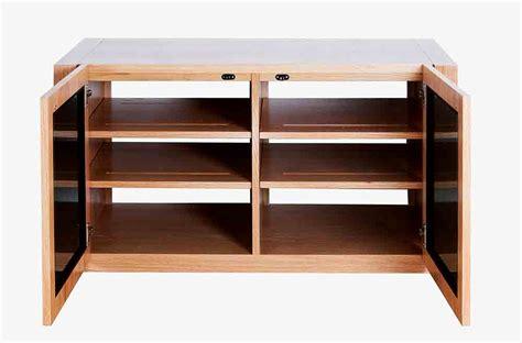 tv and storage unit av cabinet hifi home cinema tv furniture blok aveos duo xt