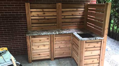 cuisine exterieur cuisine extérieur avec lavabo