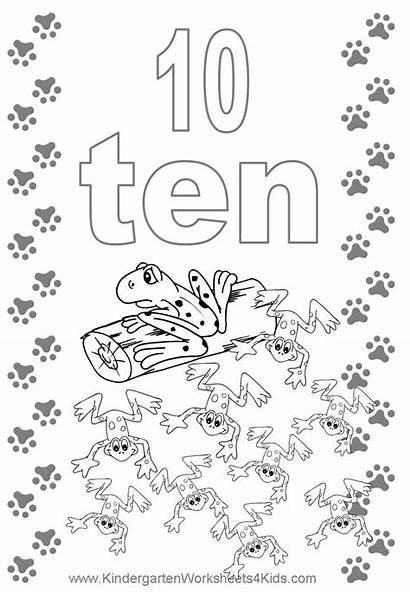 Number Coloring Pages Flashcard Flash Cards Numbers