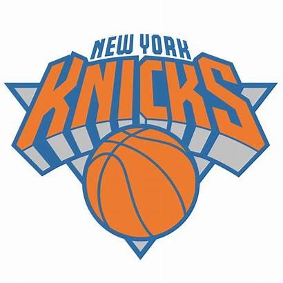 Knicks York Nba Ball Basketball Logos Child