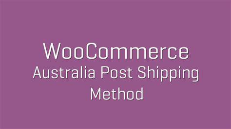 wordpress woocommerce australia post shipping