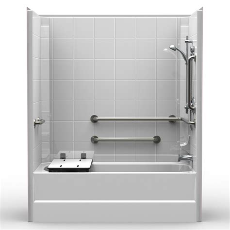 3 Tub Shower Combo by Single Code Compliant 60 Quot X 32 Quot X 74 Quot Shower Tub
