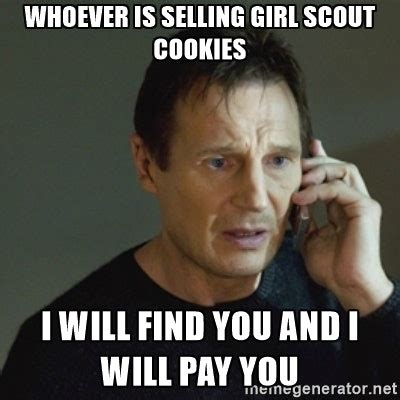 Girl Scout Cookie Memes - 11 girl scout cookie memes to satisfy your sweet tooth your funny bone
