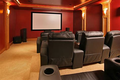Home Furniture Decoration Media Rooms Photos