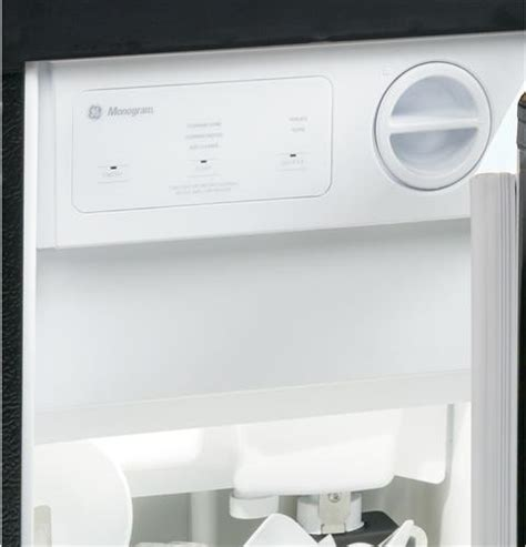 monogram high production large capacity automatic icemaker zdissshrh ge appliances