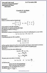 Biologie 10  Examens De Math Svi Stu S1