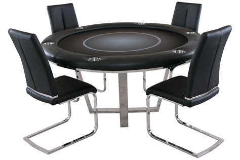 round poker table with dining manetho round poker table with 4 matching chairs pharaoh usa