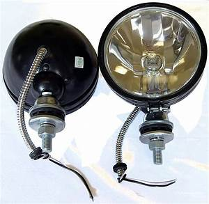 2 Diamond 6 U0026quot  100w Black Off Road Lights Jeep 4x4 Dune