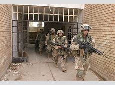 US Marines from the 3rd Battalion 5th Marines seize