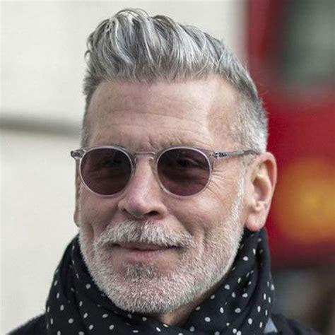 hairstyles  older men  hair grey hair men