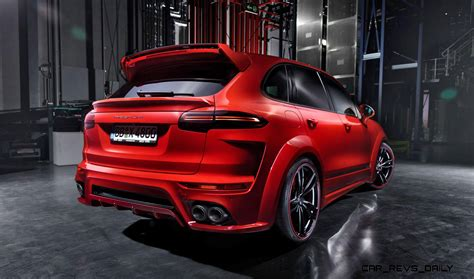 700hp Techart Magnum For Porsche Cayenne Is New 40s Flagship