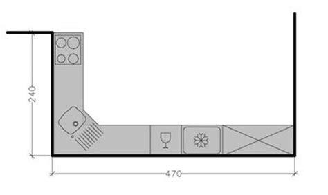 plan cuisine en l plan de cuisine en l 8 exemples pour optimiser l 39 espace