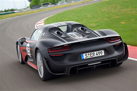 porsche back report 2 2 version of porsche 918 spyder considered photo