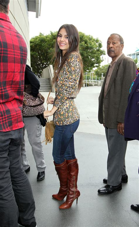 victoria justice knee high boots knee high boots