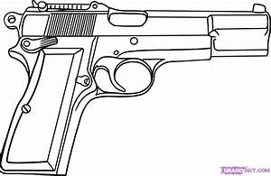 Gun Coloring Pages Only Coloring Pages