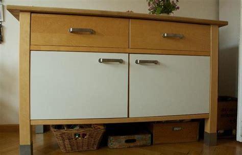 Ikea VÄrde Küchenschrank Unterschrank Birke Mit Weißer