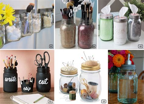 original diy ideas  mason jars bnbstaging le blog